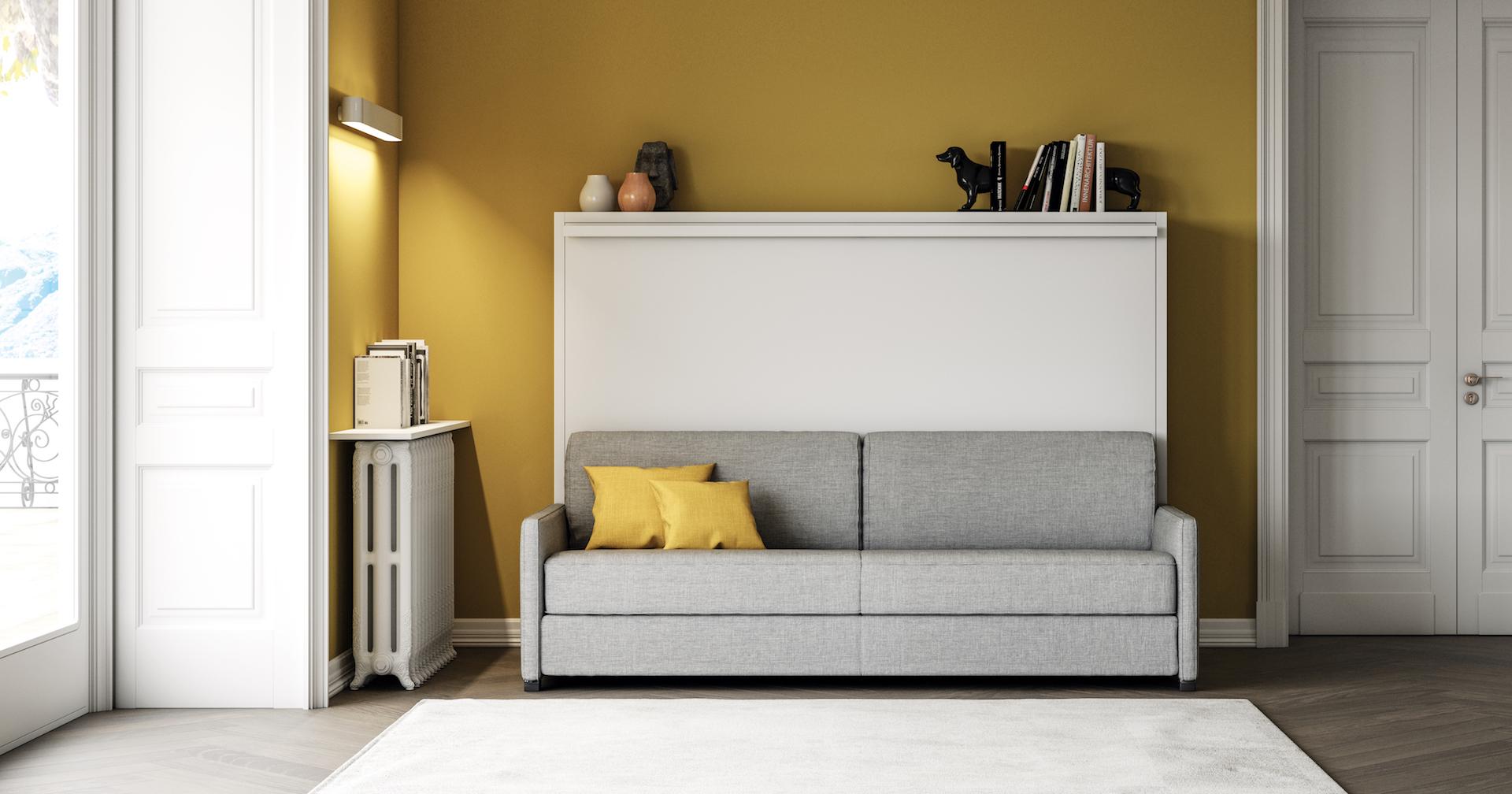 Lit mural avec divan - sofag